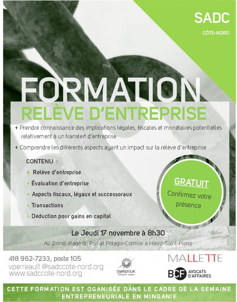 Formation Relève - Mallette BCF