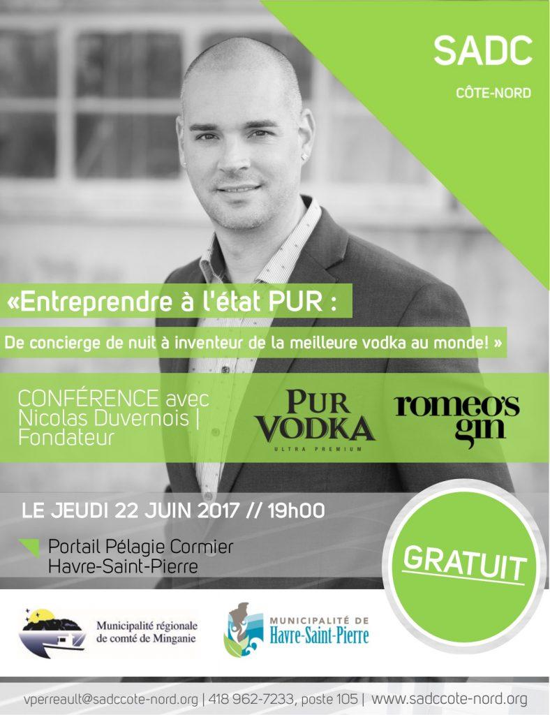 Publicité Nicolas Duvernois - HSP