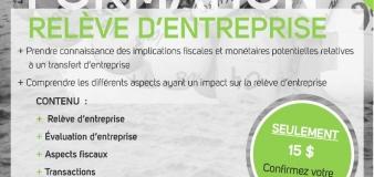 Formation | Transfert d'entreprise | Blanc-Sablon