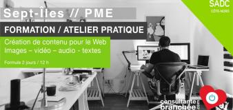 FORMATION // Création de contenu //  Sept-Îles – PME