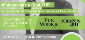 Conférence| Nicolas Duvernois, PUR Vodka| Anticosti