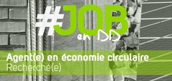 OFFRE D'EMPLOI – Agent(e) en économie circulaire